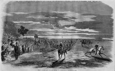 Cavalry And Artillery Review, Washington Capital Print