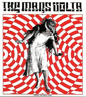 THE MARS VOLTA bird girl STICKER **Free Shipping** deloused in the comatorium