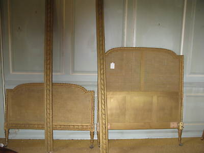 19th Century Giltwood Bergere Bed • £580.00