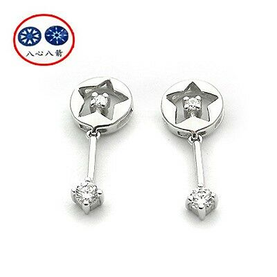 Engagement & Wedding Vivi Signity Star Diamond Earring 2115
