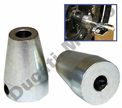 NEW Portable Motorcycle Wheel Balancer UPGRADE CONE KIT for 24mm - 30mm spindles