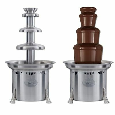 "Sephra Cortez 23"" Stainless Steel Commercial Chocolate Fountain Professional Use"