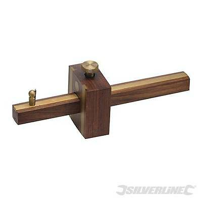 Carpenters Brass & Rosewood Expert Cutting Gauge FOR CARPENTRY TOOLS  598515