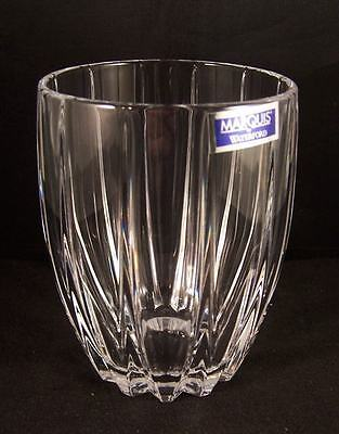 Omega Double Old Fashioned by Clear Crystal Waterford Marquis Set of 4 NEW