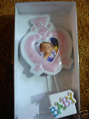 Baby Picture Frame Pink