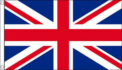 8' x 5' UNION JACK FLAG UK British Great Britain Large Funeral Coffin Drape