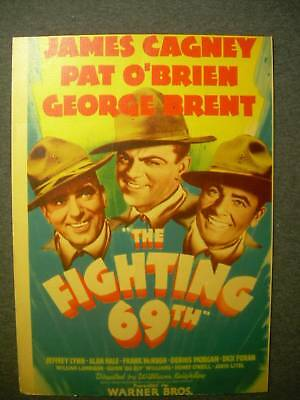 James Cagney The Fighting 69th Mini Window Card G501