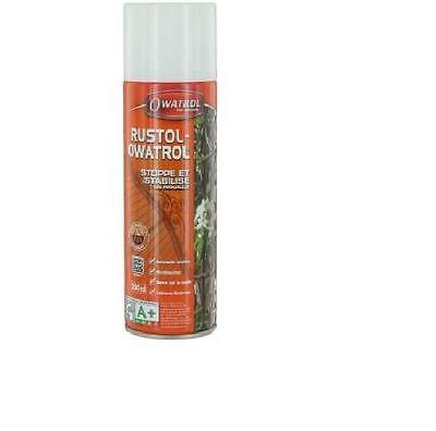 ANTIROUILLE INCOLORE RUSTOL OWATROL Aérosol 300ML