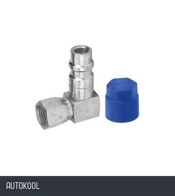 """R12 to R134a Retrofit Conversion 90 Degree Low Side Adapter 1/4"""" x 13mm 82275"""