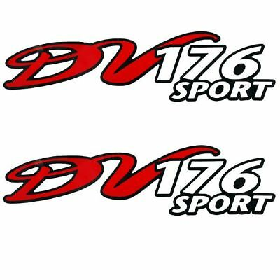 Dv 176 Sport Boat Decals (Pair)