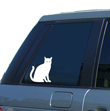 Sca_Art - Cat Sticker Vinyl Car Decal Kitten Pet Cats