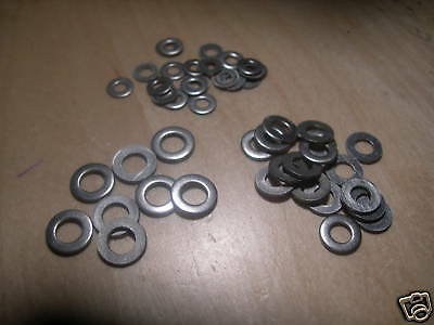 Pack of 300 ASSORTED (Mixed)  M2 M2.5 M3   FLAT WASHERS A2 Stainless Steel
