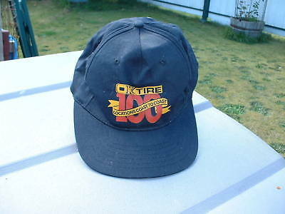 Ball Cap Hat - OK Tire - 100 Locations Canada (H482)