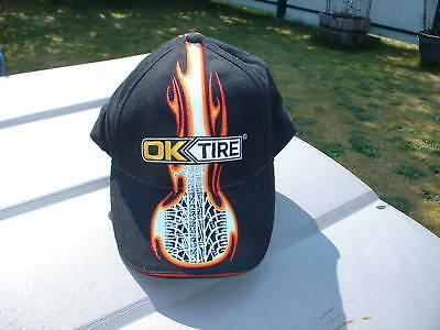 Ball Cap Hat - OK Tire - Fire Tread - Fired Up (H516)