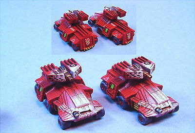 Battletech painted Bolla Stealth wheeled tanks (2) WoB