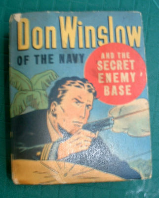 Don Winslow Of The Navy Better Little Book #1453 -1943