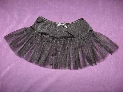 Mini Goth,Rock,Emo Girls Black Dance Tutu  Skirt-18-24