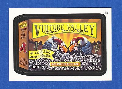 2007 Wacky Packages ANS5 Vulture Valley  B5  Bonus Card