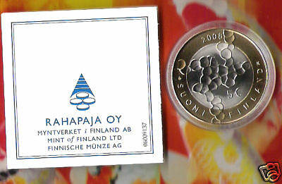 Finland /Suomi 5 Euro 2008 BU SCIENCE AND RESEARCH