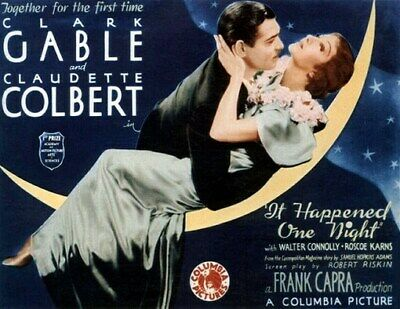 IT HAPPENED ONE NIGHT MOVIE POSTER Clark Gable 3