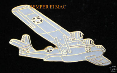 PBY CATALINA FLYING BOAT US NAVY HAT PIN WW WOW! L@@K!