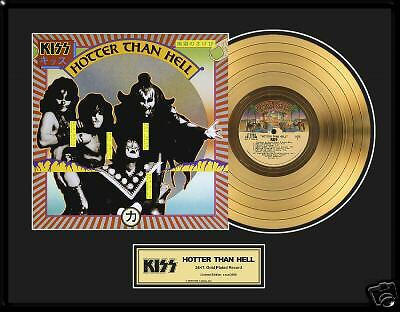 KISS Hotter Than Hell Gold LP Award Frehley LP02034