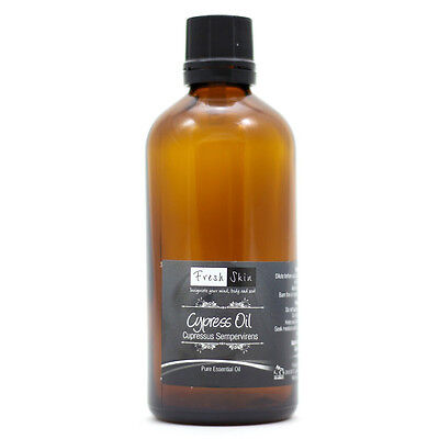 50ml Cypress Pure Essential Oil - 100% Pure, Certified & Natural - Aromatherapy