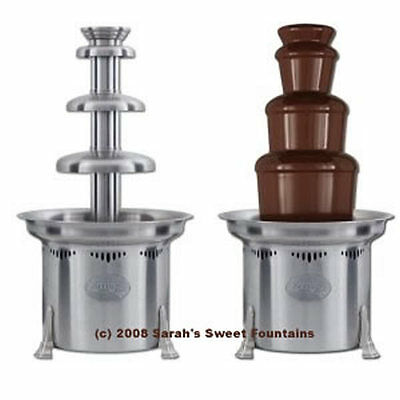 "Sephra 27"" Aztec Large Stainless Steel Commercial Chocolate Fountain + Free Ship"