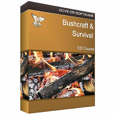Bushcraft Survival Kit Camping Training Course Cd Book