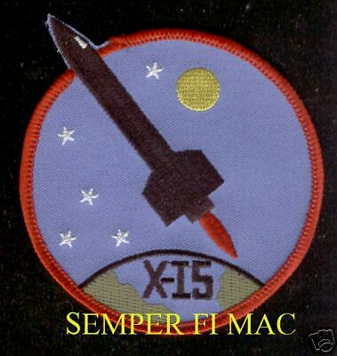 X-15 US AIR FORCE NASA PATCH NORTH AMERICAN EDWARDS AFB ASTRONAUTS SPACE WOW