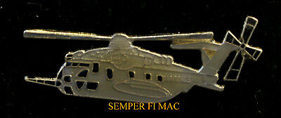 CH-53 E SEA STALLION HAT PIN US MARINES NAVY MCAS USS FMF PILOT CREW HELICOPTER