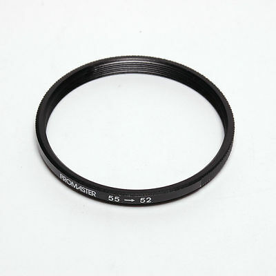 55 to 52mm Step-Down Ring