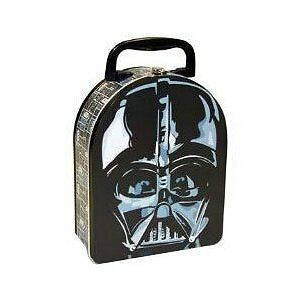 Star Wars Darth Vader Head Shaped Embossed Lunch Box