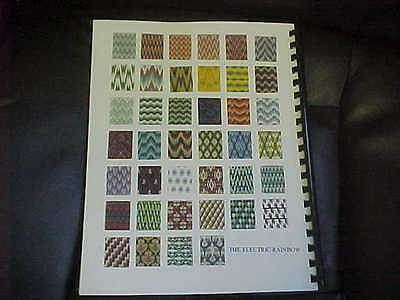 930/940 Knitting Machines Primer-4th In Series Bargello Jacquard Workbook