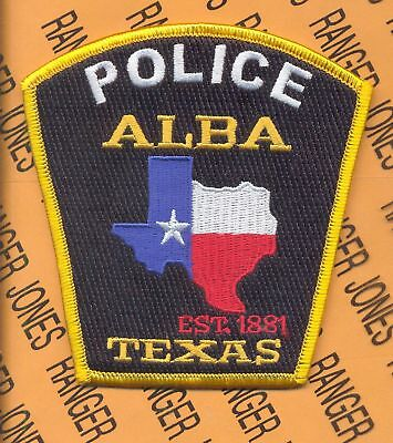 ALBA TEXAS APD POLICE DEPARTMENT PD LEO patch