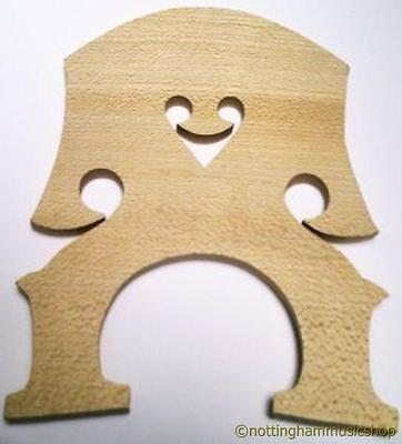 New 3/4 Size Double Strings Bass Contrabass Bridge