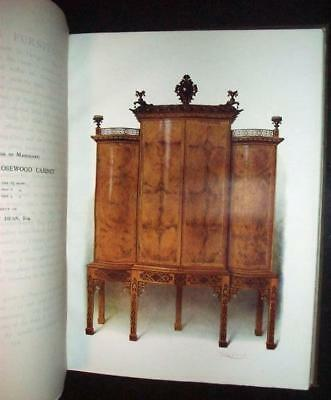 1906 Mahogany English Furniture Folio MacQuoid Clr Plt