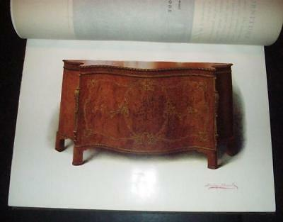 Satinwood English Furniture 1908 Folio, MacQuoid, Color