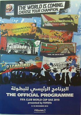 FIFA CLUB WORLD CUP 2010: Official Tournament Brochure