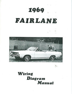 1969  69   Ford Fairlane  Wiring Diagram  Manual