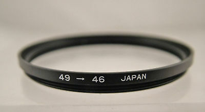 49Mm - 46Mm Step-Down Camera Filter Ring