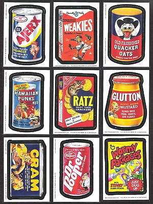 2005 Topps Wacky Packages ANS2 Series 2 COMPLETE MAGNET SET of 9 magnets nm+