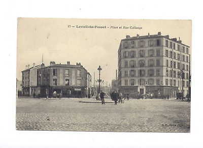92* LEVALLOIS PERRET place et rue collange - 27