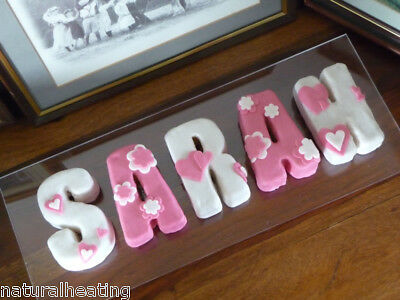 LETTERS Personalised Silicone Bakeware Cake Mould Pans Alphabet Birthday Words