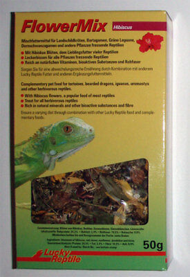 Lucky Reptile Flower Mix Hibiscus 50g Futter