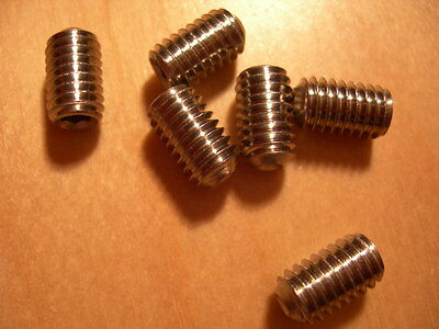 Pack of 25 Assorted (Mixed) M2 M2.5 M3  GRUB SCREWS A2 Stainless Steel