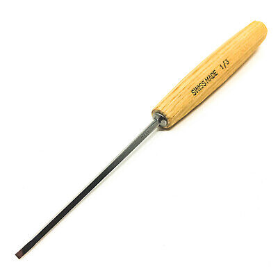 PFEIL SWISS MADE 1/3 3MM  CARVING TOOL CHISEL-$8.95 to ship, extras ship $1ea.
