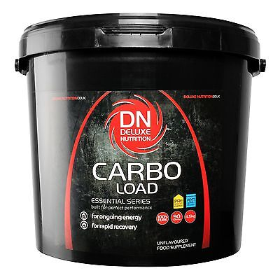 Maltodextrin (Carbo Load) 4.5kg  Carbohydrate Energy Loading Powder By Deluxe