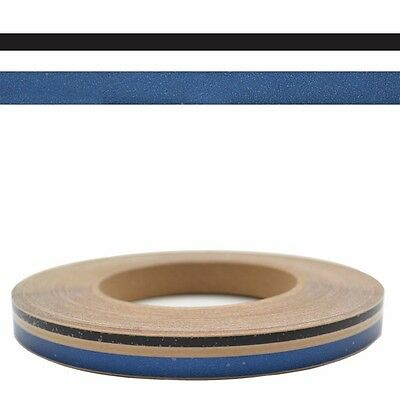 Starcraft Black Clear Blue 1/2 IN x 150 FT Boat Pinstripe Tape Decal 5373-08