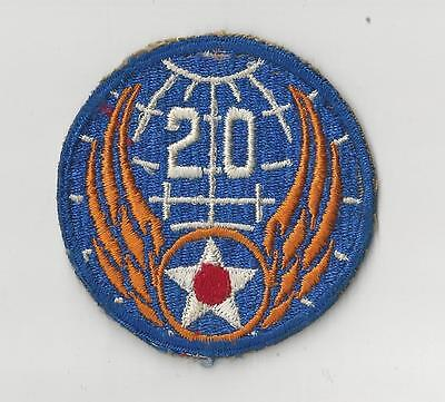US ARMY AIR CORPS PATCH - 20TH AIR FORCE